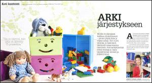 Arki järjestykseen Tori 2013
